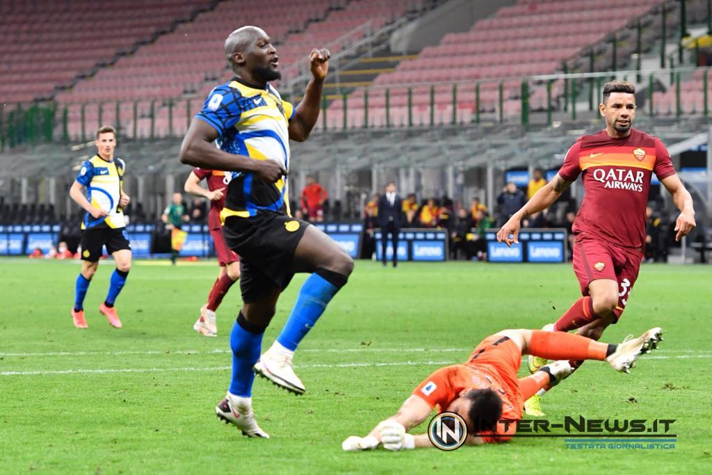 Lukaku, Inter-Roma, foto di Tommaso Fimiano, Copyright Inter-News.it