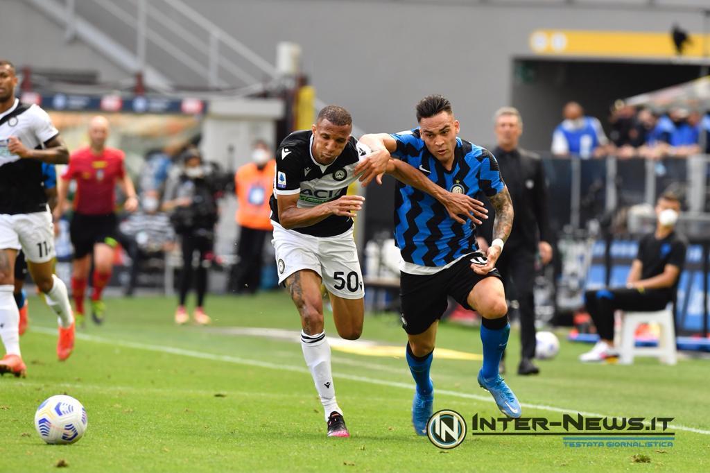 Lautaro-Becao, Inter-Udinese - Foto di Tommaso Fimiano, Copyright Inter-News.it