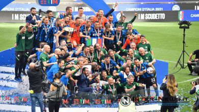 Inter-Udinese, premiazione scudetto 2020-2021, foto di Tommaso Fimiano, Copyright Inter-News,it