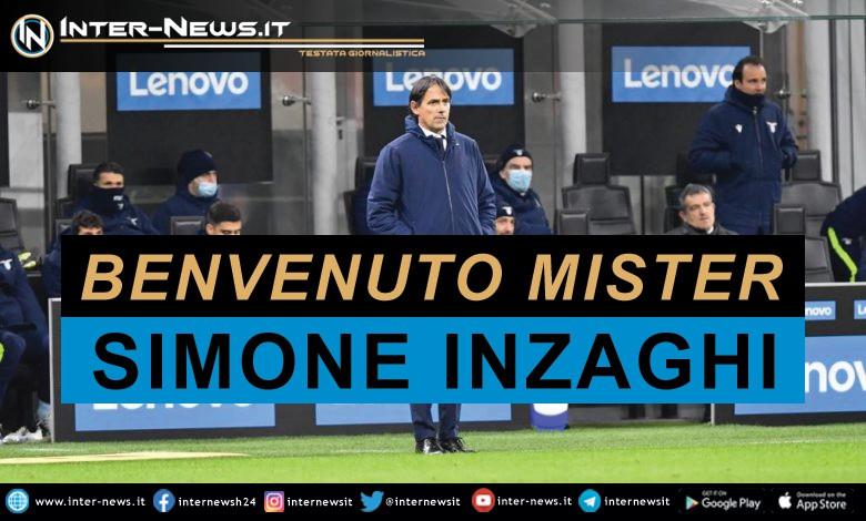 Benvenuto mister Simone Inzaghi - Inter