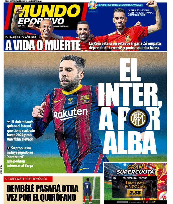Mundo Deportivo 23 giugno