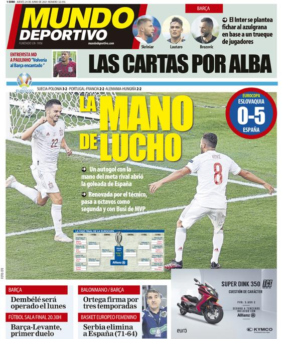 Mundo Deportivo 24 giugno 2021