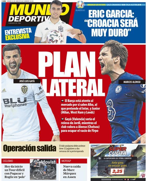 Mundo Deportivo 26 giugno 2021