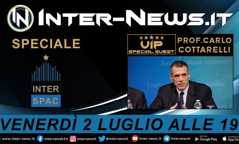 Carlo Cottarelli (Presidente di InterSpac) ospite di Inter-News.it