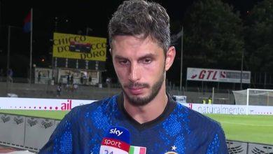Andrea Ranocchia Lugano-Inter
