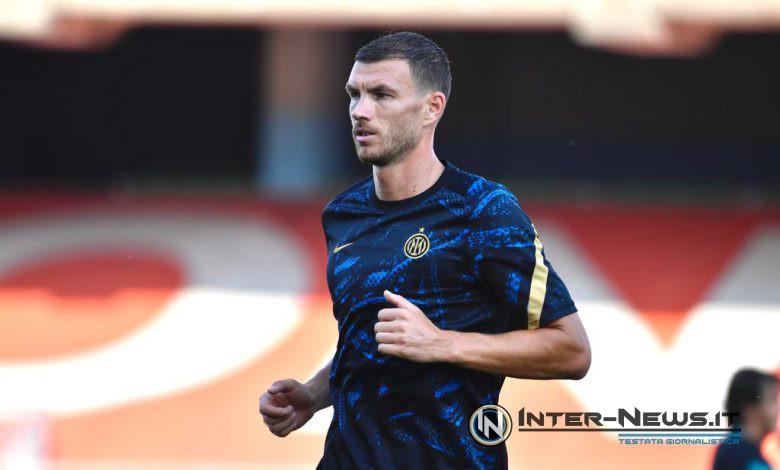 Edin Dzeko - Inter (Photo by Tommaso Fimiano, Copyright Inter-News.it)