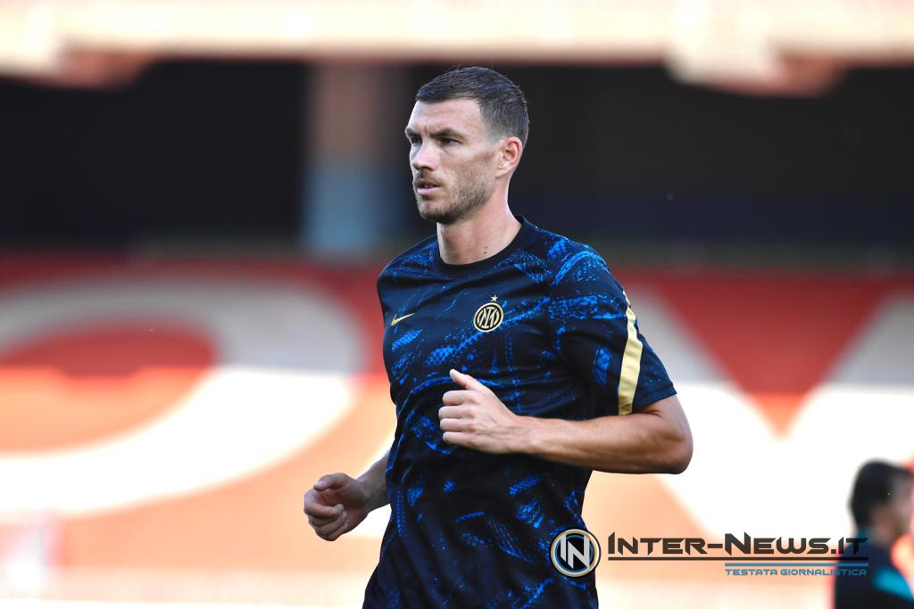 Dzeko, Inter-Dinamo Kiev, copyright Inter-News.it, foto Tommaso Fimiano