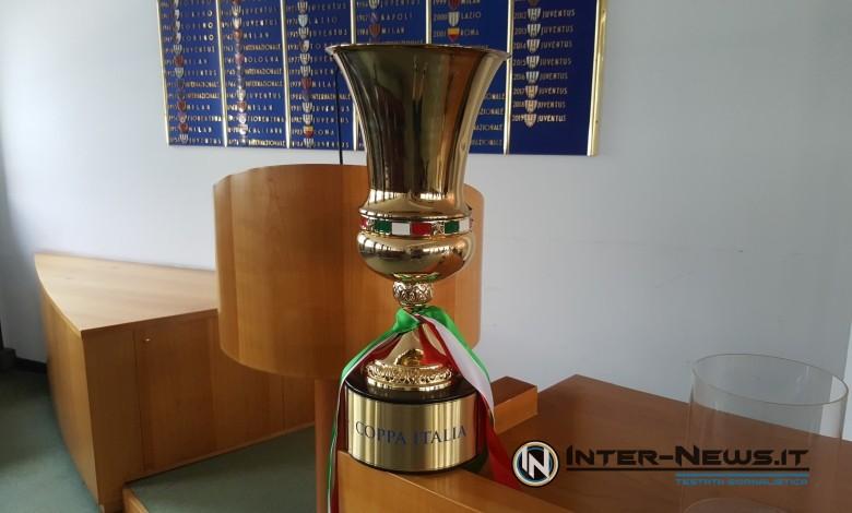 Coppa Italia trofeo (photo by Giulio Di Cienzo, copyright Inter-News.it)