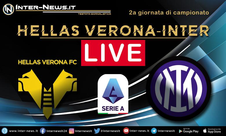Hellas Verona-Inter live