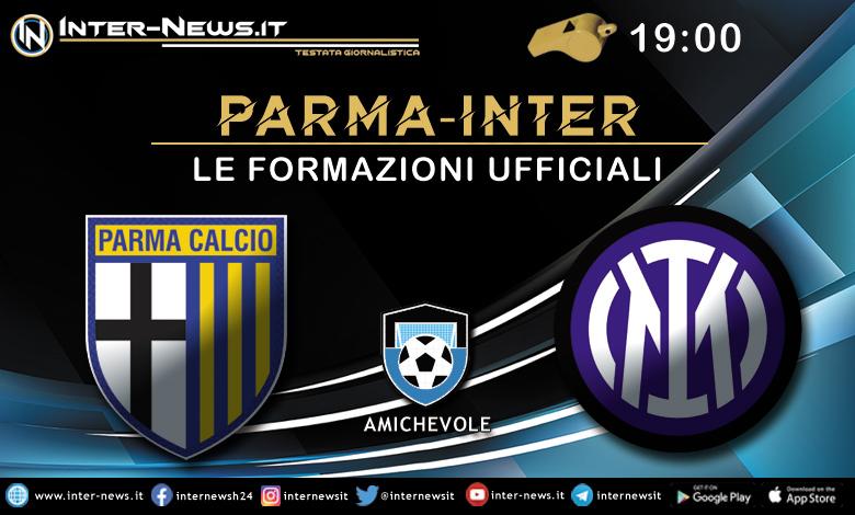 Parma-Inter-Formazione