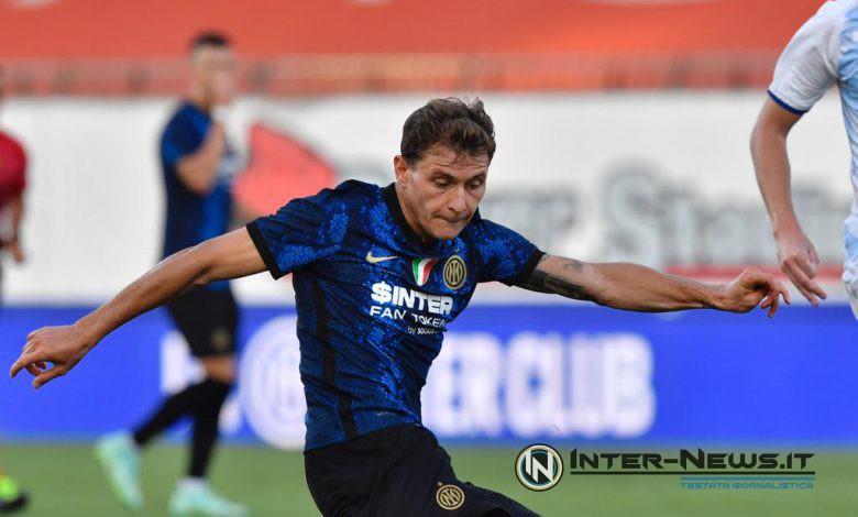 Nicolò Barella in Inter-Dinamo Kiev (Photo by Tommaso Fimiano, Copyright Inter-News.it)