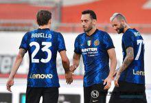 Calhanoglu Inter-Dinamo Kiev, copyright Inter-News.it, foto Tommaso Fimiano