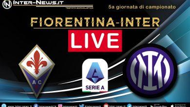 Fiorentina-Inter live