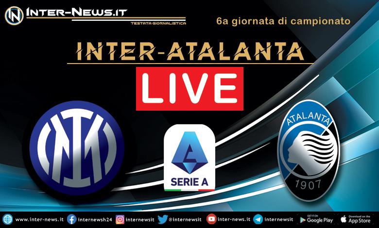 Inter-Atalanta live
