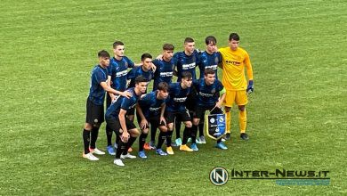 Inter Primavera in Inter-Real Madrid Under 19 di UEFA Youth League (Photo by Riccardo Spignesi, Copyright Inter-News.it)