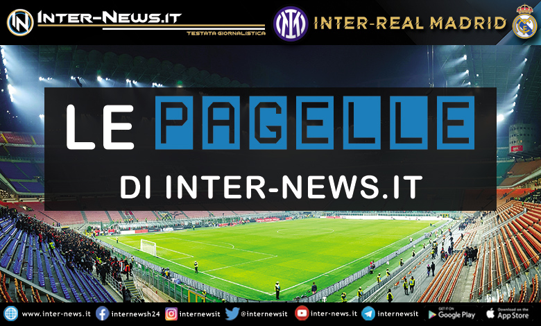 Inter-Real Madrid- Le pagelle