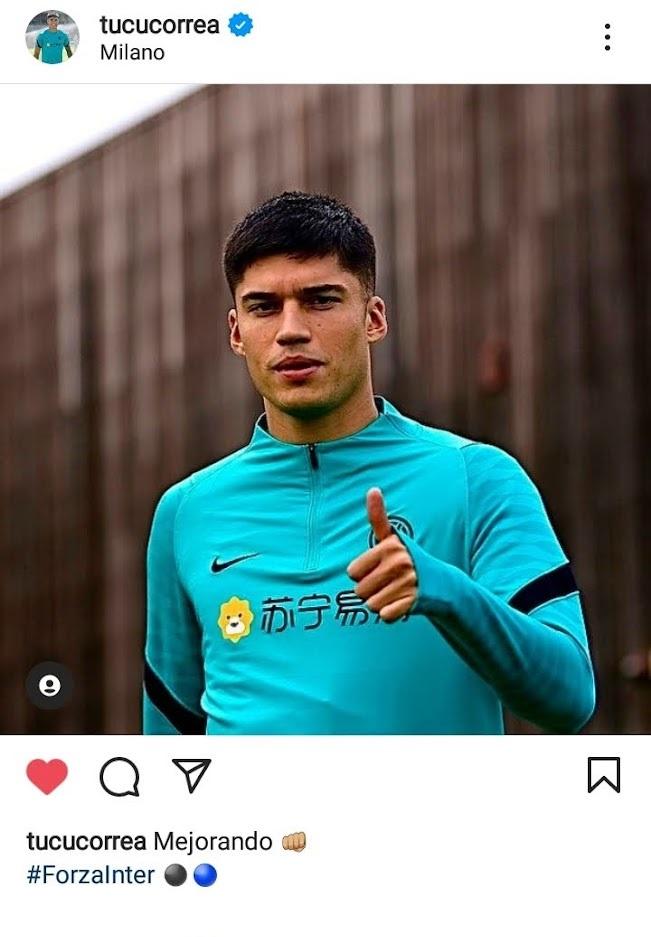 Joaquin Correa - Instagram