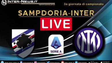 Sampdoria-Inter-Live