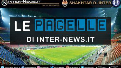 Shakhtar Donetsk-Inter - Le pagelle