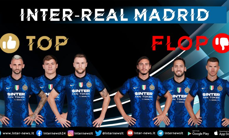 Inter-Real Madrid Top-Flop