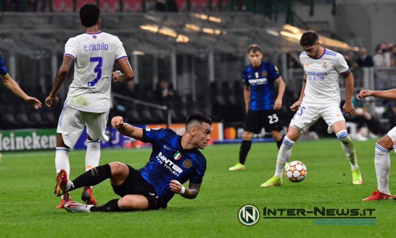 Lautaro Martinez, Inter-Real Madrid, Copyright Inter-News.it (photo by Tommaso Fimiano)