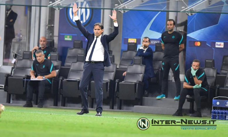 Simone Inzaghi in Inter-Real Madrid (Photo by Tommaso Fimiano, Copyright Inter-News.it)