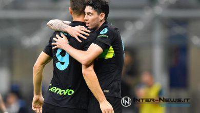 Dzeko - Bastoni - Inter-Bologna - Copyright Inter-News.it (photo by Tommaso Fimiano)