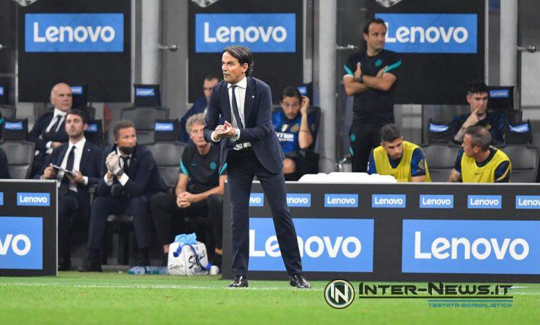 Simone Inzaghi in Inter-Atalanta (Photo by Tommaso Fimiano, Copyright Inter-News.it)