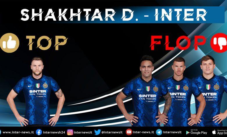 Shakhtar Donetsk-Inter - Top e Flop