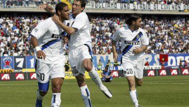 Adriano, Kily Gonzalez e Recoba in Empoli-Inter