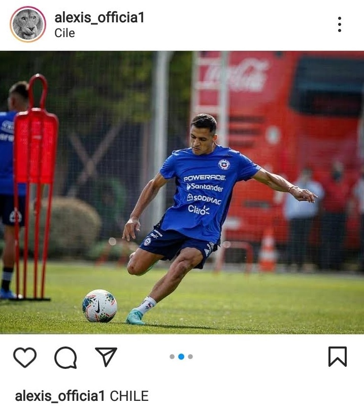 Alexis Sanchez - Instagram