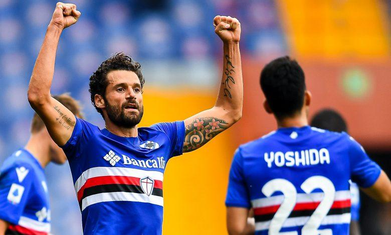 Antonio Candreva Sampdoria-Spezia