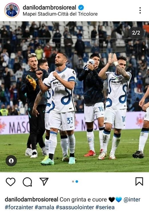Danilo D'Ambrosio - Instagram