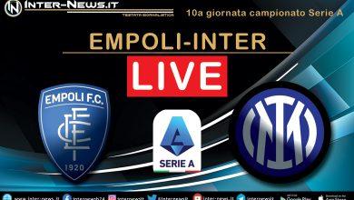Empoli-Inter live