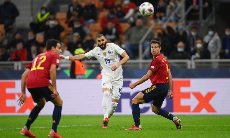 Karim Benzema Spagna-Francia