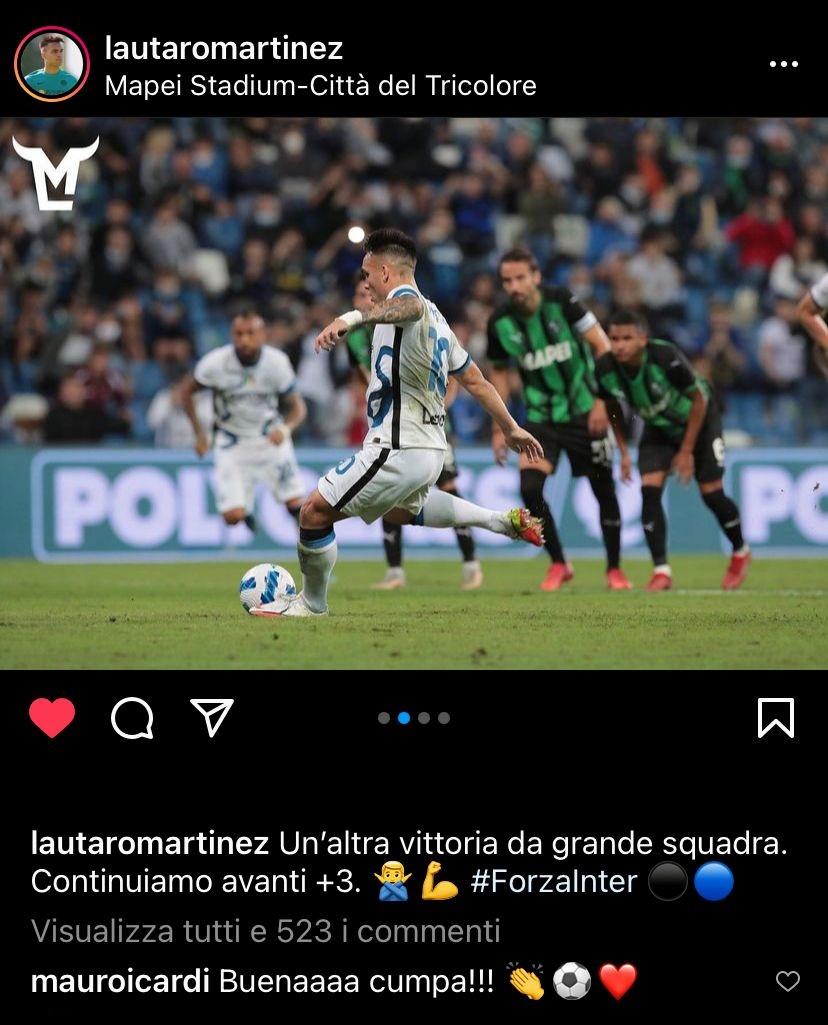 Lautaro Martinez - Instagram
