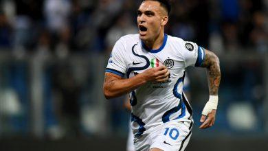 Lautaro Martinez Sassuolo-Inter