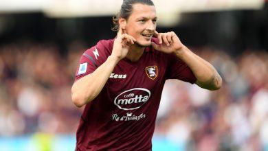 Milan Djuric Salernitana-Genoa