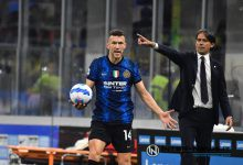 Ivan Perisic e Simone Inzaghi in Inter-Juventus (Photo by Tommaso Fimiano, Copyright Inter-News.it)