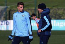 Sergej Milinkovic-Savic e Simone Inzaghi ai tempi della Lazio