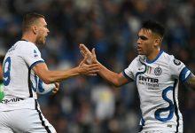Edin Dzeko e Lautaro Martinez - Inter